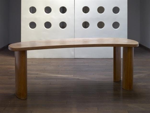 Freeform desk bureau forme libre by charlotte perriand pierre jeanneret on artnet - Bureau charlotte perriand ...