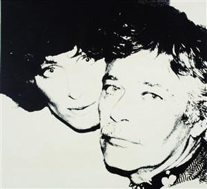 john and lorraine chamberlain by andy warhol