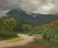noonmark, keene valley in the adirondacks by alexander helwig wyant