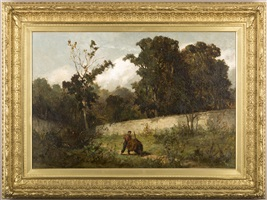 tending the grounds by edward bannister