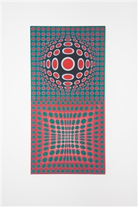 vp 100 by victor vasarely