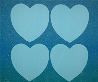 diamond dust hearts by andy warhol