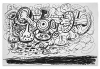 sky by philip guston