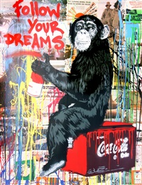 follow your dreams by mr. brainwash