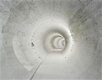 bemposta power station: circular dam gallery by edgar martins