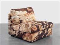 earth chair (san andreas fault 2) by doug aitken