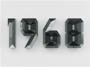 1968 (black) by doug aitken