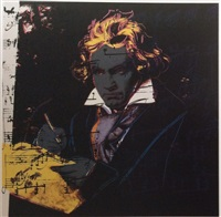 beethoven f&s. ii.393 by andy warhol