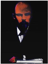 black lenin f&s. ii.402 by andy warhol
