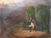 napoleon a l'ile d'elbe revant a sa gloire passee by charles louis kratke