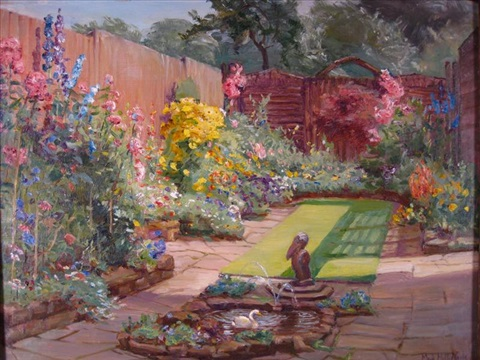 the garden at the white gate by maud hall rutherford neale