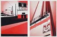 sd billboard (+ sunset & vine billboard; 2 works) by shepard fairey