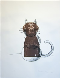 ray cat by william wegman