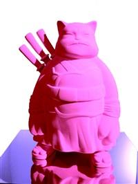 samuraicat (pink pigment) by hiro ando