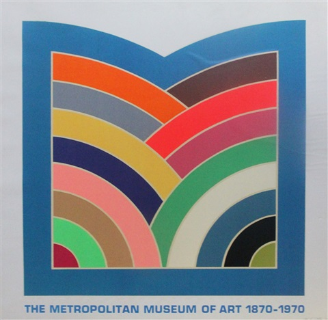 centennial celebration of metropolitan museum of art by frank stella