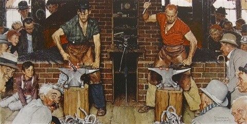 Berkshire Museum cashes out, sells Rockwell's 'Blacksmith Boy' for $7 million...