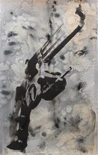 gun by robert longo