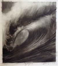 untitled (wave) by robert longo