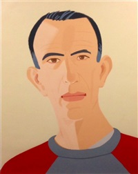 sweatshirt ii (from alex and ada, the 1960s to the 1980s) by alex katz