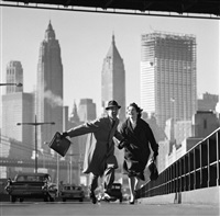 new york, new york by norman parkinson