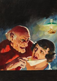 pulp cover by lyman anderson