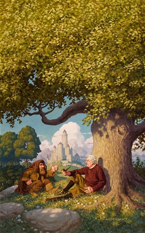 jrr tolkien architect of middle earth book cover by greg tim hildebrandt brothers