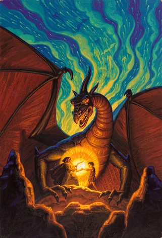the dragonbards book cover by tim hildebrandt