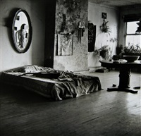 mary frank's bedroom by walker evans