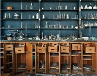 chemistry lab, former cass technical high school building (from detroit disassembled) by andrew moore