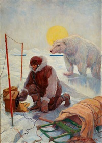 at the north pole by henry j(arvis) peck