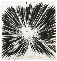 orange sunshine by raymond pettibon