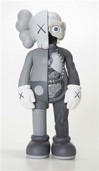 companion dissected (grey) by kaws