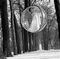 bois de bologne, paris, 1963 by melvin sokolsky