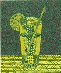 lemon squash (2) by yayoi kusama