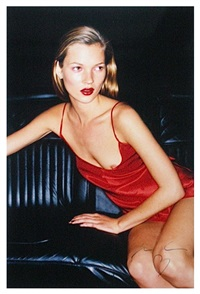 kate moss for vogue by juergen teller