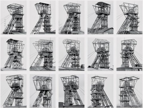 fördertürme winding towers by bernd and hilla becher