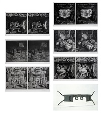 untitled (complete set of six photgravures with stereopticon) by william kentridge