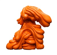 scumak (orange) by roxy paine