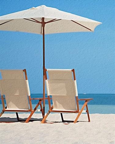 Nantucket Beach Chairs Cropped By Philipp Hofmann On Artnet