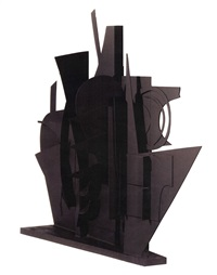 maquette for night wall vi by louise nevelson