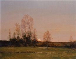 golden sunset by dennis sheehan (sold)