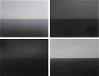 time exposed #342: adriatic sea, gargano (+3 others; 4 works) by hiroshi sugimoto