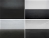 time exposed #360: south pacific ocean, tearai (+3 others; 4 works) by hiroshi sugimoto