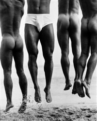 jump, paradise cove by herb ritts