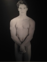 paul wadina by robert mapplethorpe