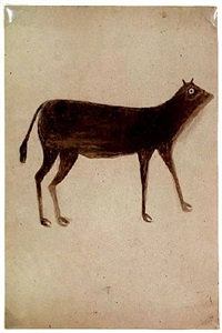brown dog with long legs by bill traylor