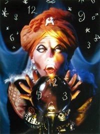 fortune teller by cindy sherman