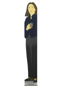 standing ada by alex katz