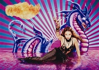 madonna: furious seasons, new york by david lachapelle