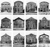 industriehallen (industrial facades) by bernd and hilla becher